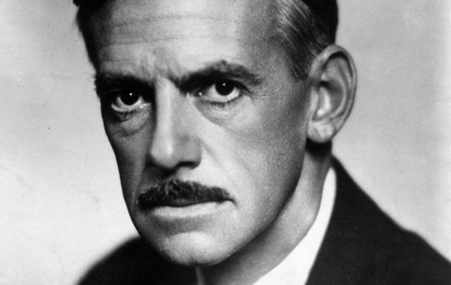 Irish American dramatist Eugene O\'Neill, circa 1936.