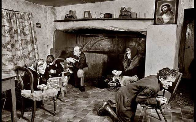 """Photograph from Richard Fitzgerald\'s book \""""Dark Ireland: Images from a Lost World.\"""""""