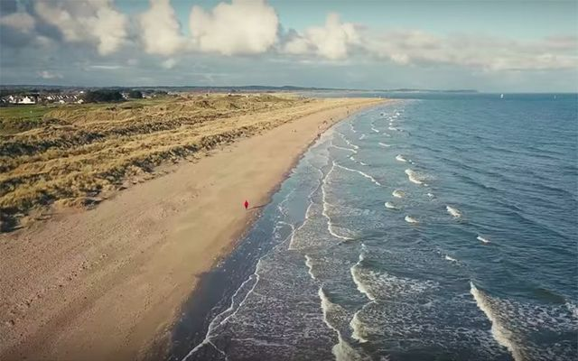 The beach at Bettystown, Co. Meath.