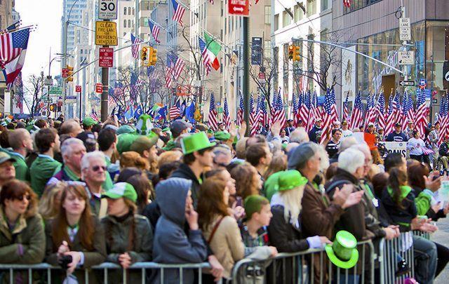 St. Patrick's Day en Nueva York