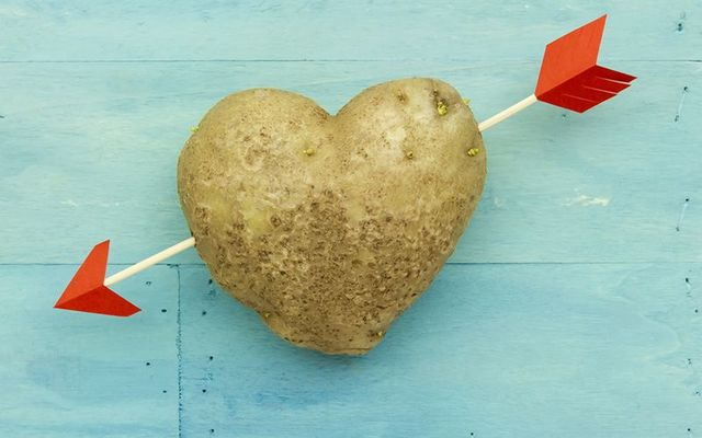 """It's easy to halve the potato where there is love""."