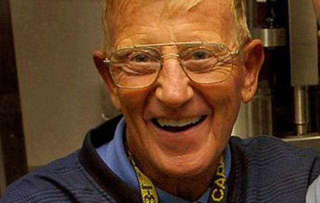 Former Notre Dame football coach Lou Holtz.