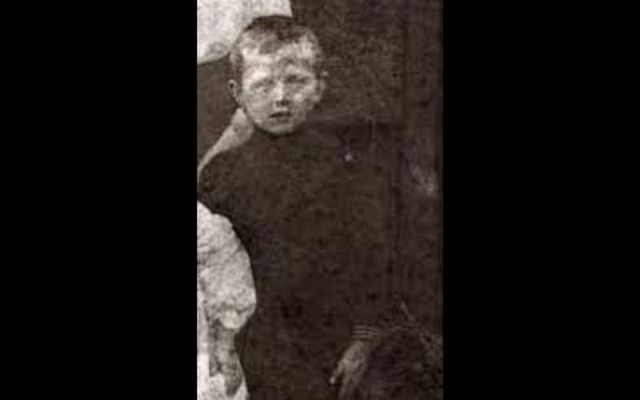 Eugene Lynch (8), from Inchicore, Dublin, was playing football with other children outside Dublin's Richmond Barracks when he was shot by a British soldier on April 28, 1916.