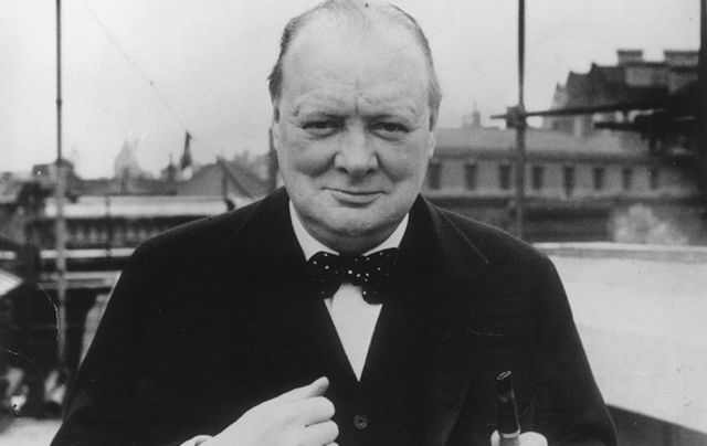 British Secretary of State for War Winston Churchill was the man who sent the Black and Tans to Ireland in 1920.