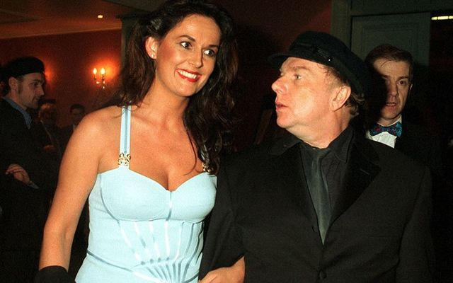 Michelle Rocca and her former husband Van Morrison.