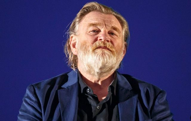 Actor Brendan Gleeson on stage at an FYC Screening of Mr. Mercedes at Hollywood Forever on April 15, 2018, in Hollywood, California.
