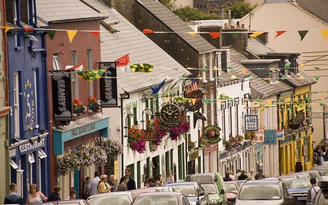 Dingle, in County Kerry, is getting slack for not being enough of a Gaeltacht!