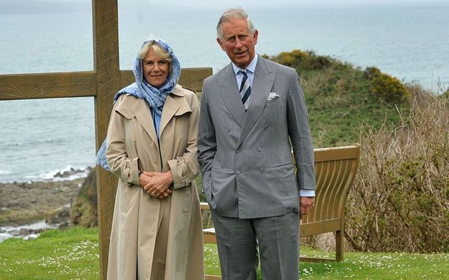 Prince Charles and Duchess Camilla visiting Ireland in 2015.