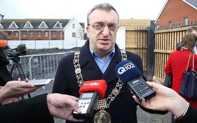 Dublin's Lord Mayor Mícheál MacDonncha.