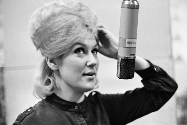 Dusty Springfield photographed in 1963.