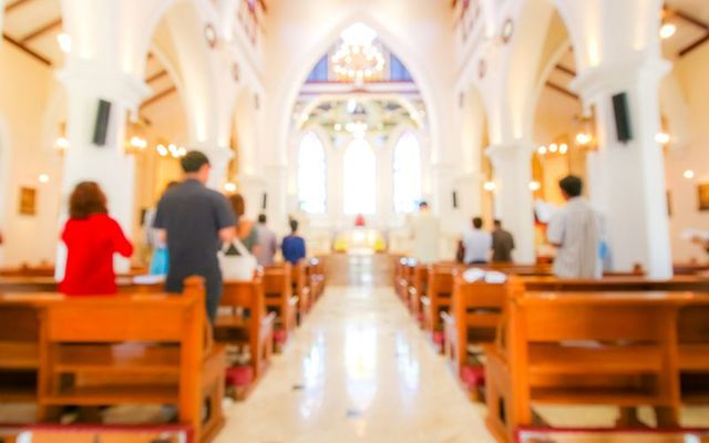 Regular attendance of mass is on a downward trend for Catholics.