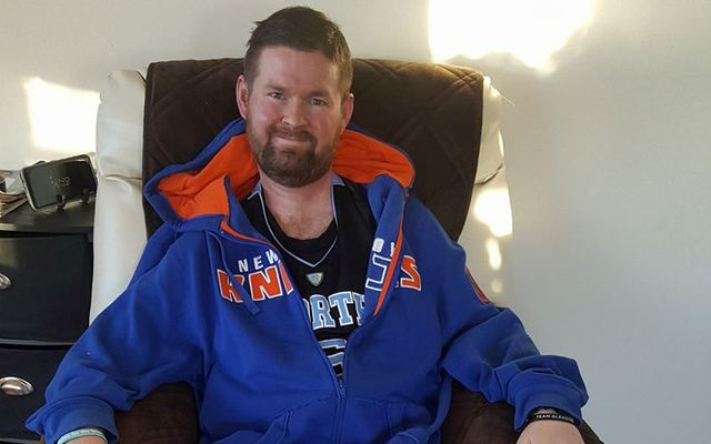ALS patient and cure advocate Pat Quinn.