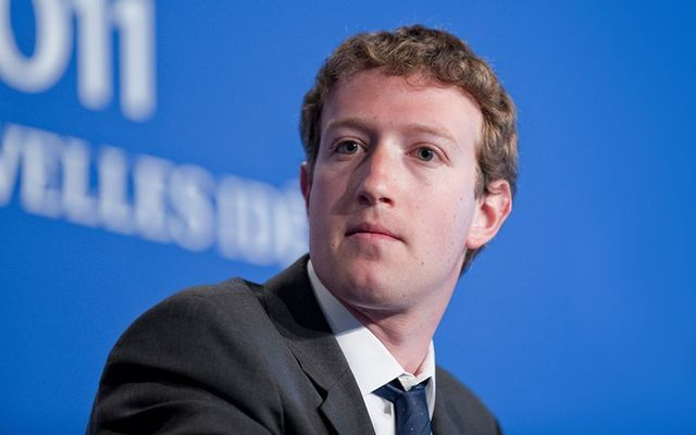 Facebook founder Mark Zuckerburg.