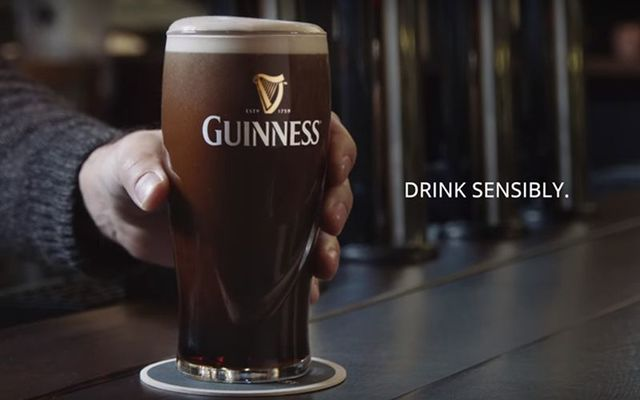 Guinness\' message: Drink like a brewer, respect the beer.