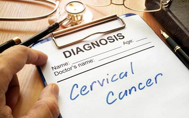 Cervical cancer diagnosis.