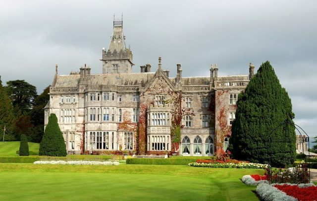 Adare Manor Hotel in Co Limerick was named one of the best hotels for 2018 by Conde Nast Traveler.