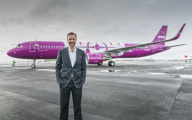 Skúli Mogensen, the founder and CEO of WOW air.