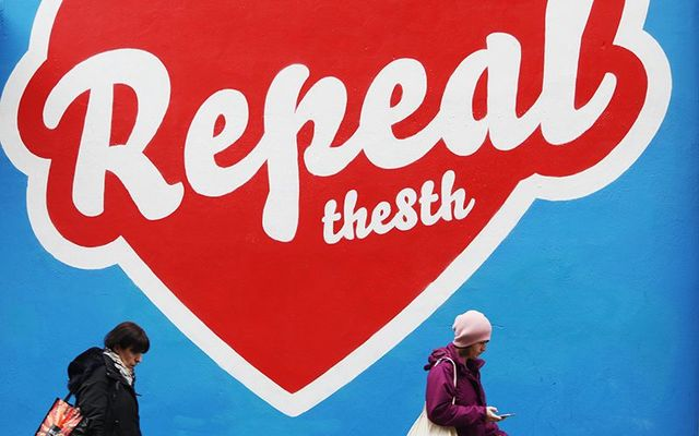 Maser\'s heart-shaped mural which has been removed from Temple Bar, Dublin, twice. Where is Ireland\'s love?