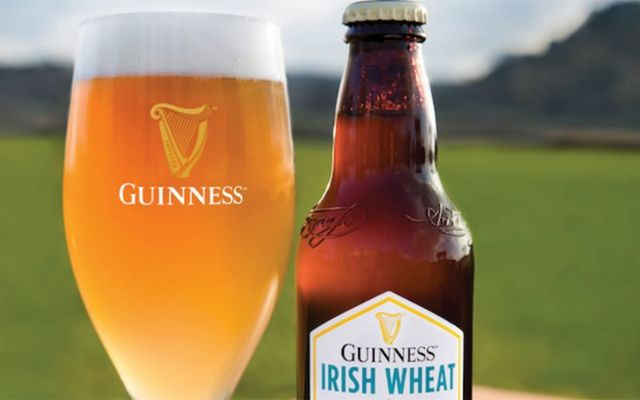 Guinness Irish Wheat Beer.