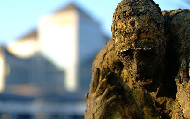 The Great Hunger Famine memorial in Dublin.
