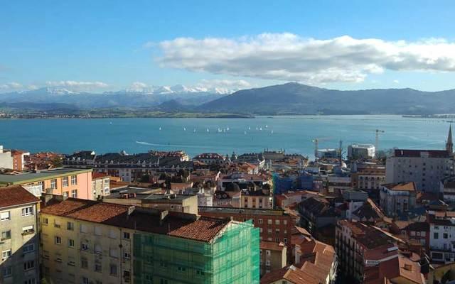 Bay of Santander, Spain.