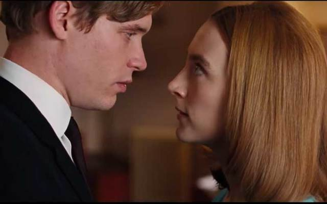 "A scene from ""On Chesil Beach,\"" starring Saoirse Ronan."