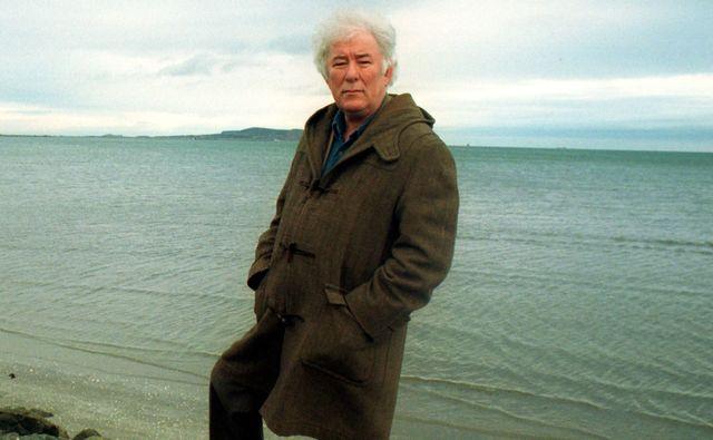Ireland\'s poet Seamus Heaney.