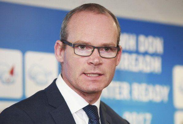Minister for Foreign Affairs and Tanaiste Simon Coveney.