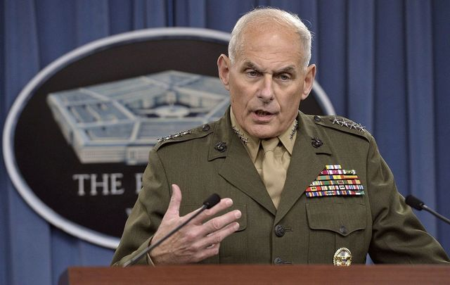 Chief of Staff John Kelly.