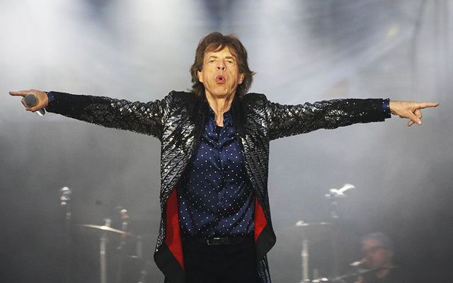 Rolling Stones Mick Jagger shows he\'s still go it at Croke Park gig!