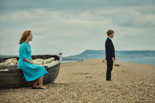 Saoirse Ronan and Billy Howle in \'On Chesil Beach.\'