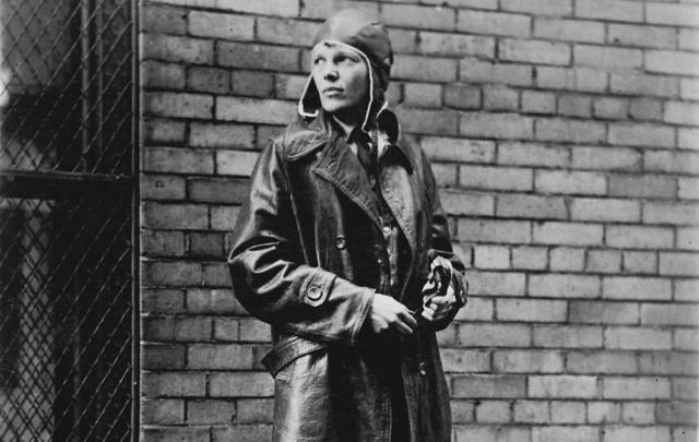 Amelia Earhart, the wonderful pilot and daredevil whose life and disappearance continue to fascinate.