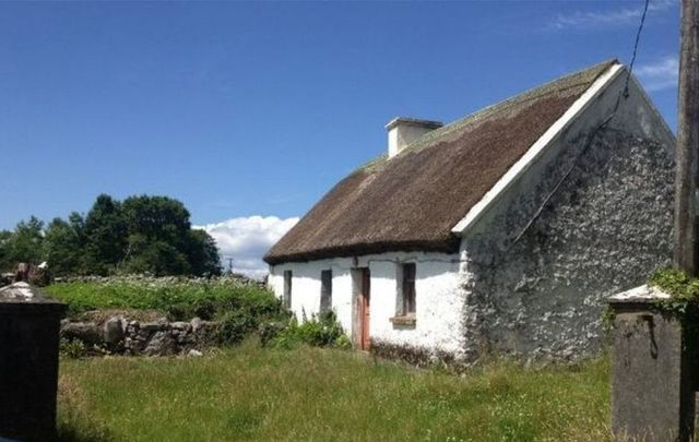 A quaint thatched cottage for sale in Co. Mayo.