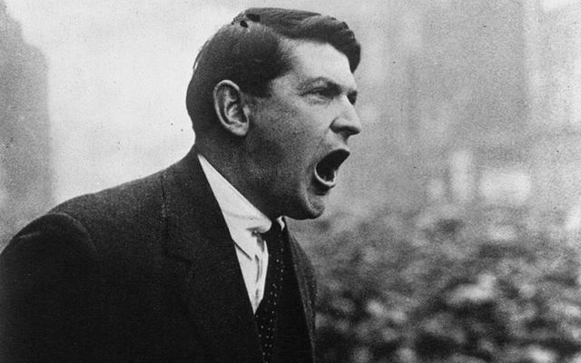 Irish revolutionary Michael Collins.