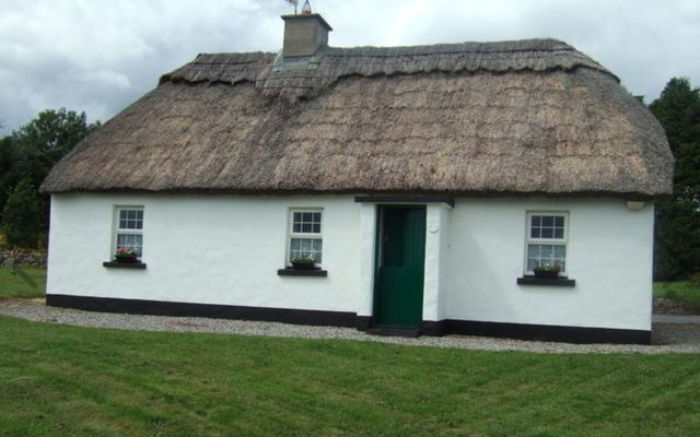 Traditional Irish thatched cottage for sale in Clare.