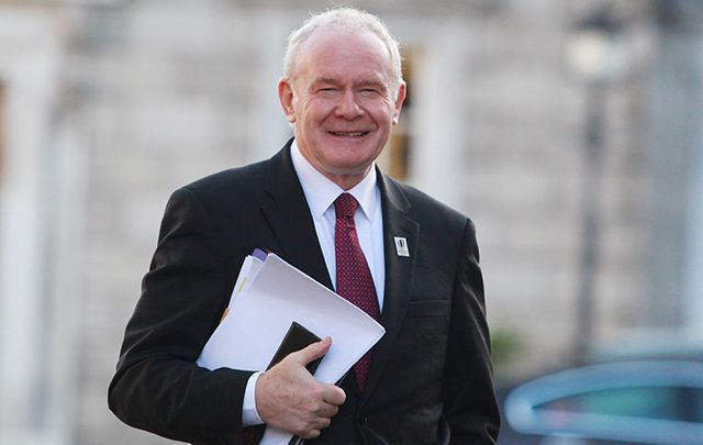 The principles were named for the late Martin McGuinness.