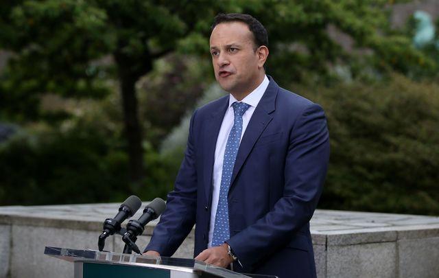 Ireland\'s Taoiseach (Prime Minister) Leo Varadkar.