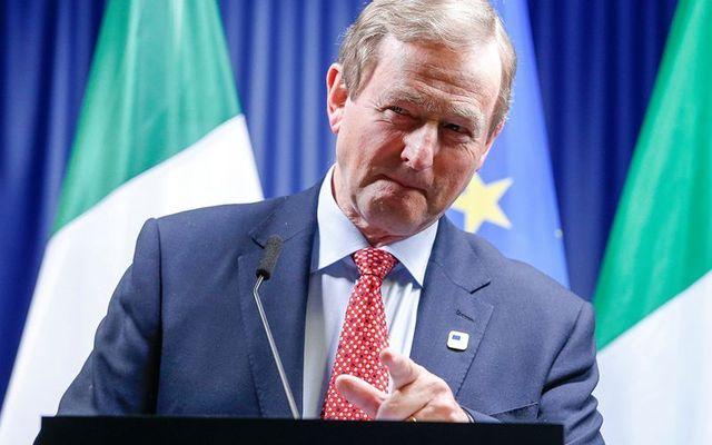Former Taoiseach (Prime Minister) Enda Kenny.