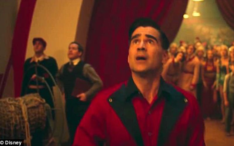 Watch Colin Farrell In Tim Burton S Dumbo Re Make
