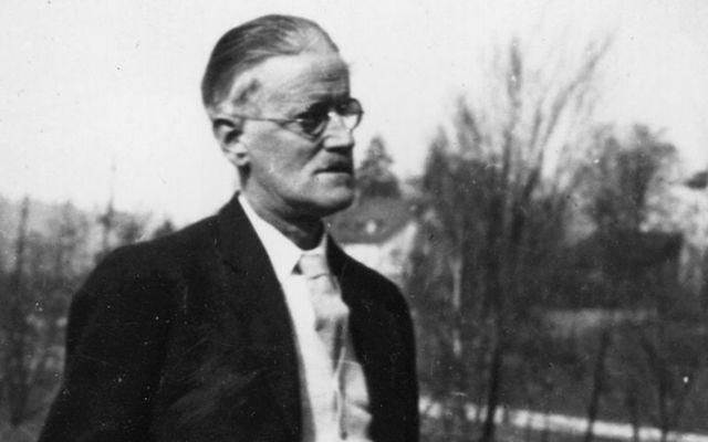 Irish literary giant, James Joyce.