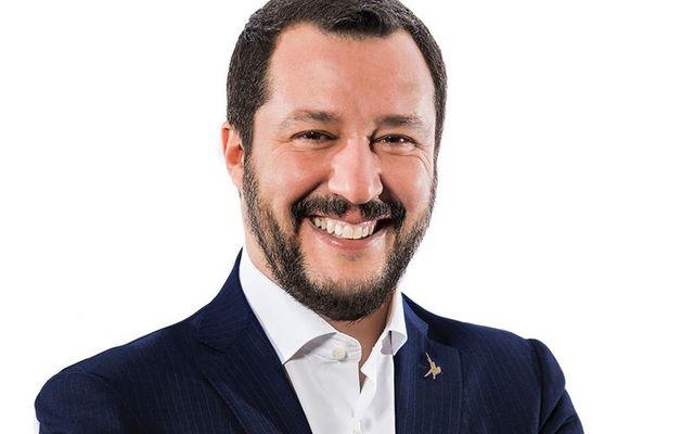 Italian Interior Minister Matteo Salvini.