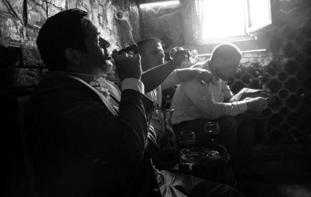 How Irish whiskey save the Italian mafia from destruction by an Irish mob.