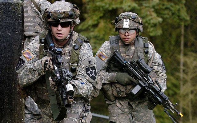 US soldiers are on a special mission in Donegal.