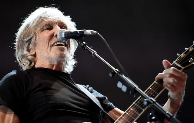 Musician Roger Waters performs during his Us + Them Tour at Staples Center on June 20, 2017, in Los Angeles, California.