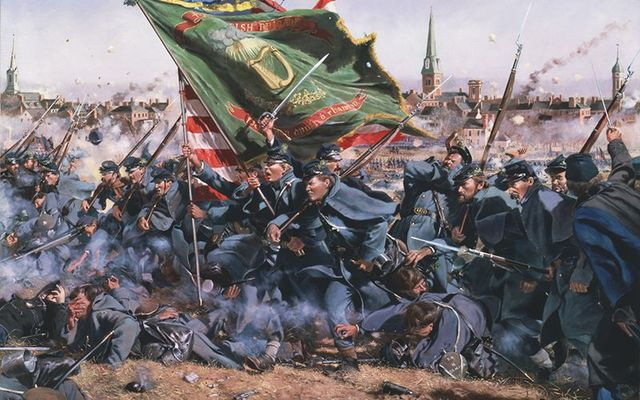 The Irish Pennsylvania Fighting 69th.