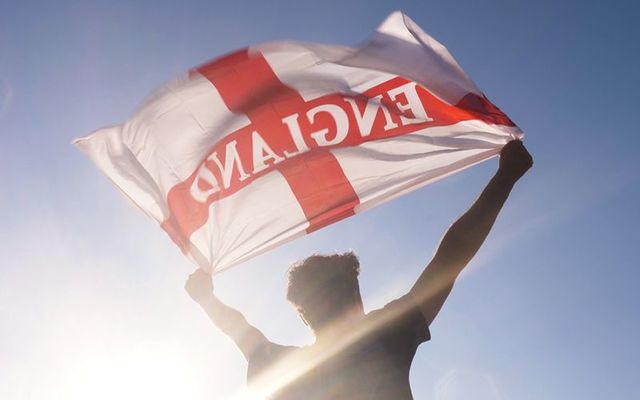Wow! Irish people are supporting England in the Russia World Cup.