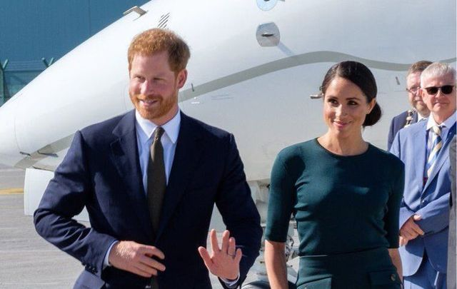 Prince Harry and Meghan Markle arrived in Dublin recently.