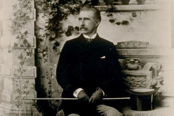 A portrait of John Mackay, circa 1890.