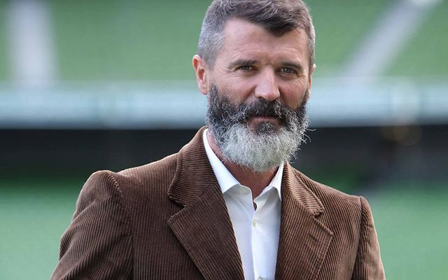 Irish football legend Roy Keane.