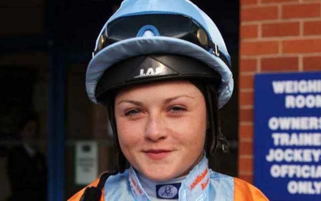 Irish jockey Laura Barry.